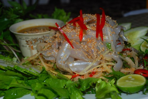 raw fish salad