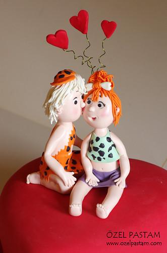 Bambam ve Çakıl'ın Aşk Pastası