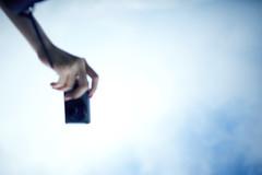 ( ) Tags: camera trip travel blue sky mountain canon fun hand hill taiwan taipei 24mm 5d2