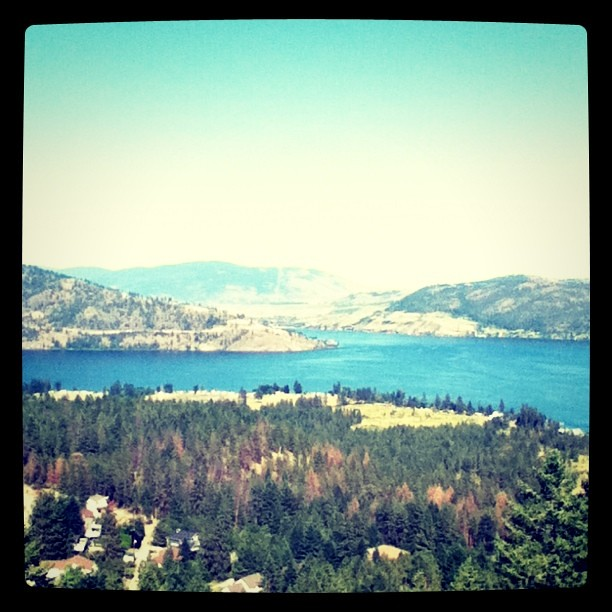 Bittersweet to be going home tomorrow gonna miss the view! #Vernon
