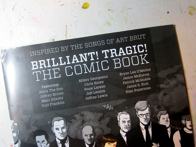 Art Brut Comic - Brilliant! Tragic!