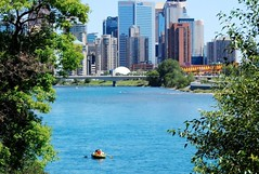 Calgary & the Bow River (by: Kim Faires, creative commons license)