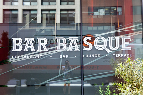 Bar Basque at the front of the Eventi Hotel