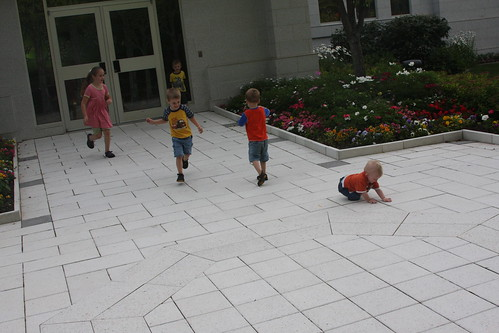 Cousins Playing 2011 Palmyra Temple