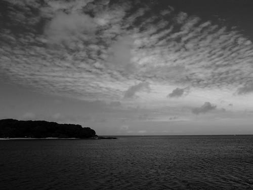 館山の海 ECM風に現像できて大変満足