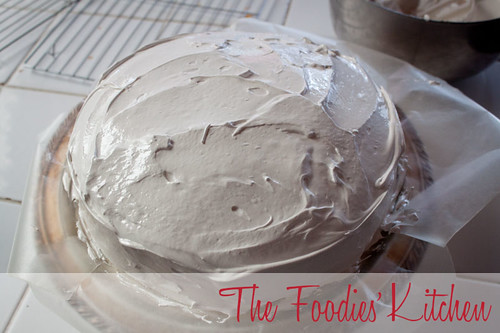 Classic Vanilla Cake and Italian Merengue Frosting