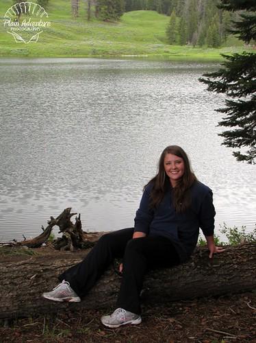 Karen at Trout Lake
