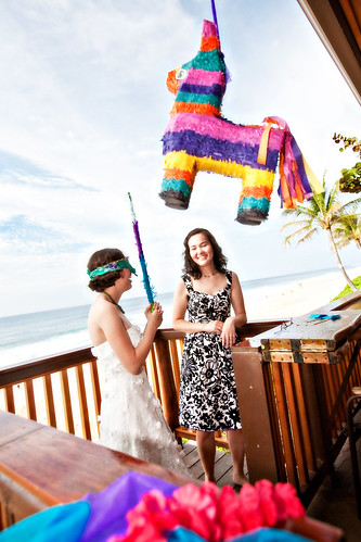 Every wedding needs a pinata.