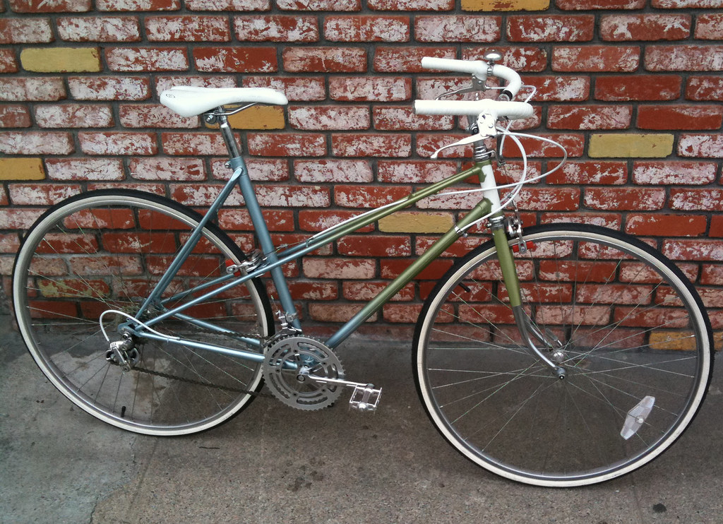 1975 Raleigh Super Course Mk II Mixte (Spacecat, San Francisco) Tags