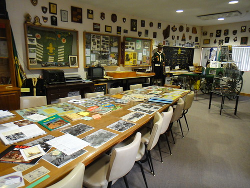 Museum Room by Tasmanian Scout Heritage Centre