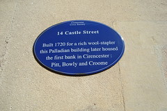 Photo of Pitt, Bowly and Croome blue plaque