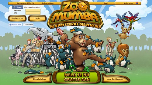 Zoo Mumba - to be launched this month on Spil Games platforms!