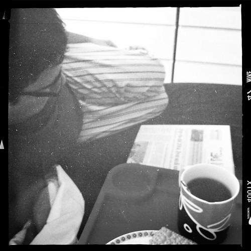 Colazione a letto con Ste