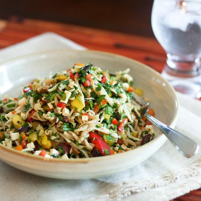 Bell Pepper Fusilli Salad