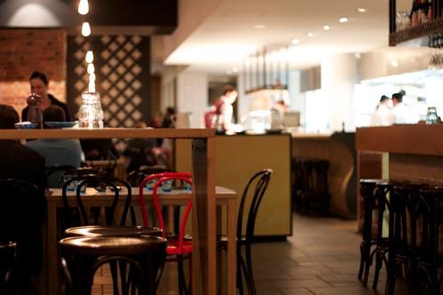 Restaurant w/ open kitchen