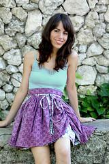 Bo Peep Skirt (Art Gallery Fabrics) Tags: pink blue summer cute clothing shoes pattern sewing skirt clothes bazaar bopeep coquette sewingpatterns bazaarstyle artgalleryfabrics bopeepskirt patbravo bopeepskit