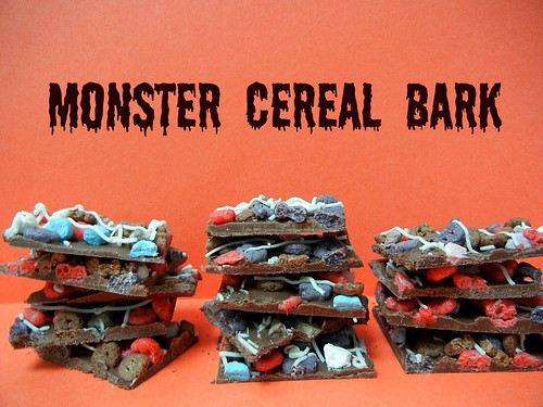 monster cereal bark