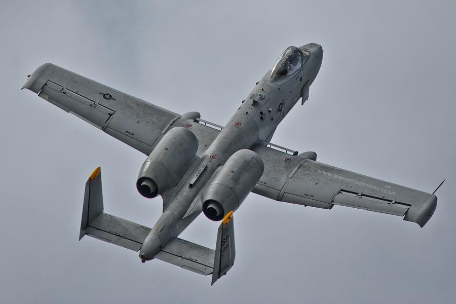RIAT2011 - USAF A-10 Thunderbolt II - Worthog