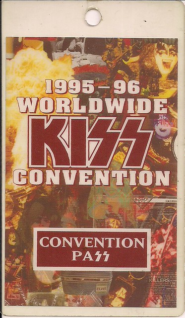 July 16 1996 Kiss Convention - Bloomington, MN (Laminate Ticket)