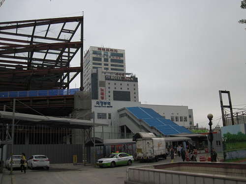 Uijongbu Station Construction