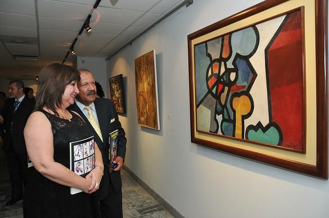 La muestra pictórica estará abierta hasta el próximo 15 de agosto, en el Museo Nahím Isaías, de Guayaquil.