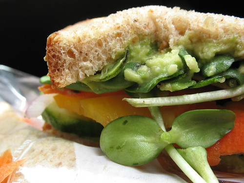 Veggie Sandwich, lunch