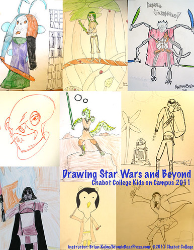 Drawing Star Wars and Beyond - Chabot College Kids on Campus 2011