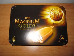 Langnese Magnum Gold (Like_the_Grand_Canyon) Tags: am eis stiel