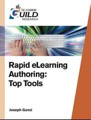 Rapid eLearning Authoring: Top Tools (report cover)