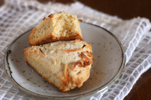 coconut scones 5