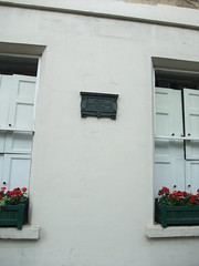 Nelson's home, in Bath