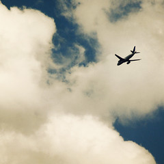 departure (moosebite) Tags: blue sky cloud texture nature clouds plane nikon colorado colorful artistic background bluesky textures backgrounds d80 moosebite jrgoodwin
