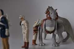 Ready the Taun Tauns (skipthefrogman) Tags: vintage soldier rebel star back action solo empire kenner wars 1980s figures strikes han bren hoth tauntaun derlin skipthefrogman