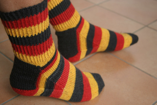 German flag color socks