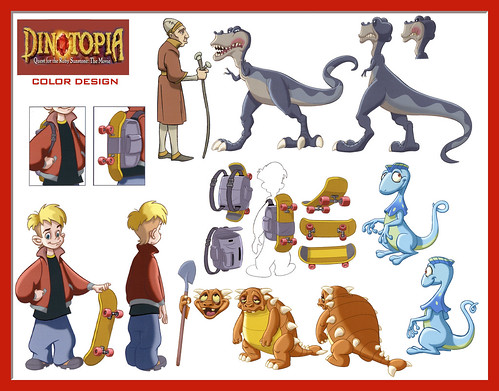 dinotopia coloring pages - photo#2