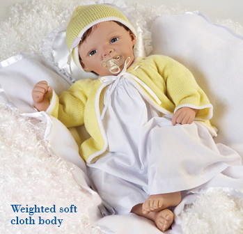 Lifelike Baby Doll Sweet Baby Bunting