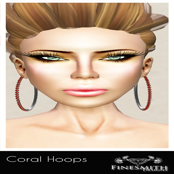 Coral Hoops