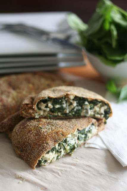 Oh Versatile Calzones – Cheezy Spinach Version