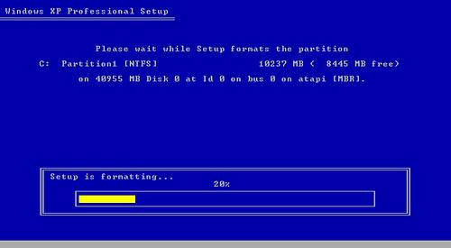 xp fresh install bootable cd