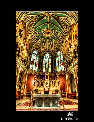 Cathedral Alter by Jim Crotty