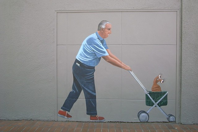 Greg Brown's Trompe-l'Oeil Murals in Palo Alto