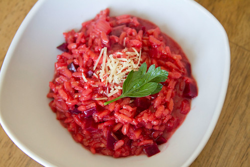 Beet Risotto - 3