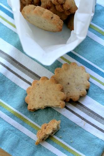 Katie dining, veggies, pecan cookies 027