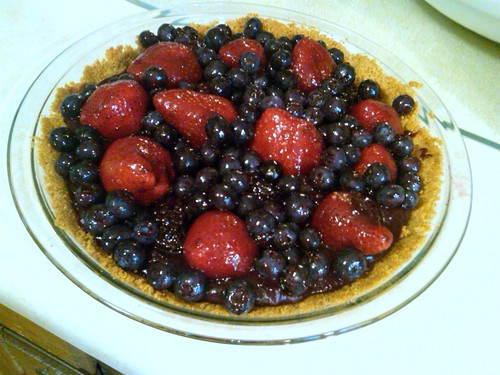 Summer Mixed Berry Pie by Just Nora