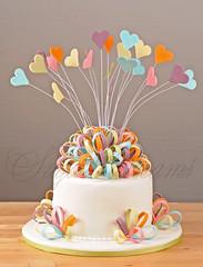 Hearts & Bows (Betty´s Sugar Dreams) Tags: wedding cake germany hearts hamburg bow herz bows hochzeitstorte torte herzen schleife hochzeitstorten wirte schlaufen betty´ssugardreams bettinaschliephakeburchardt blütenpaste