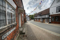 Church Street, Princes Risborough (IFM Photographic) Tags: canon buckinghamshire churchstreet tamron bucks hdr risborough princesrisborough 450d 1024mm sp1024mmf3545 tamronsp1024mmf3545 img126123tonemapped