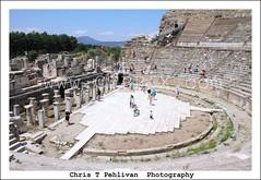 Big Theater in Ephesus(Efes),Turkey (CTPPIX.com) Tags: voyage trip vacation people canon turkey eos ancient ruins tour theatre roman urlaub turkiye ct tourist 7d ctp selcuk ephesus efes ege turchia tatil turkei christpehlivan ctppix cipuratur cipuratour egeturu