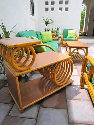 Tropitan By Ritts Rattan End Table