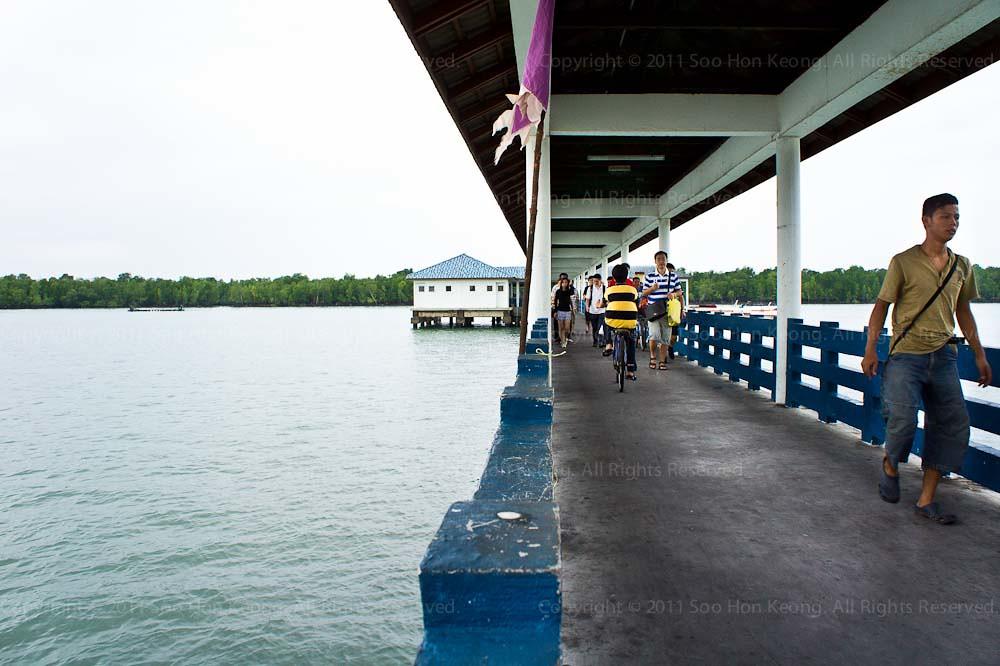 Jetty @ Pulau Ketam, Malaysia