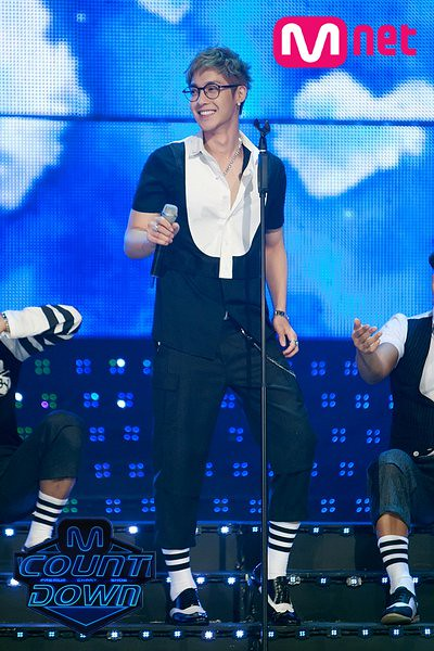 Kim Hyun Joong Performed at Mnet M!Countdown [110721]